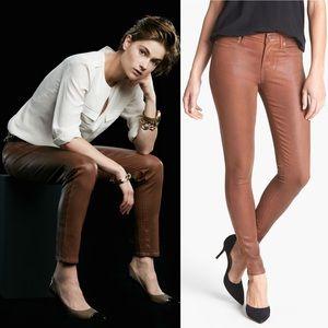 NWT Paige Verdugo Ultra Skinny Jeans 30 Coated